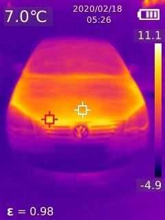 艾睿红外线热像仪-可解决99%以上的汽车检测难题