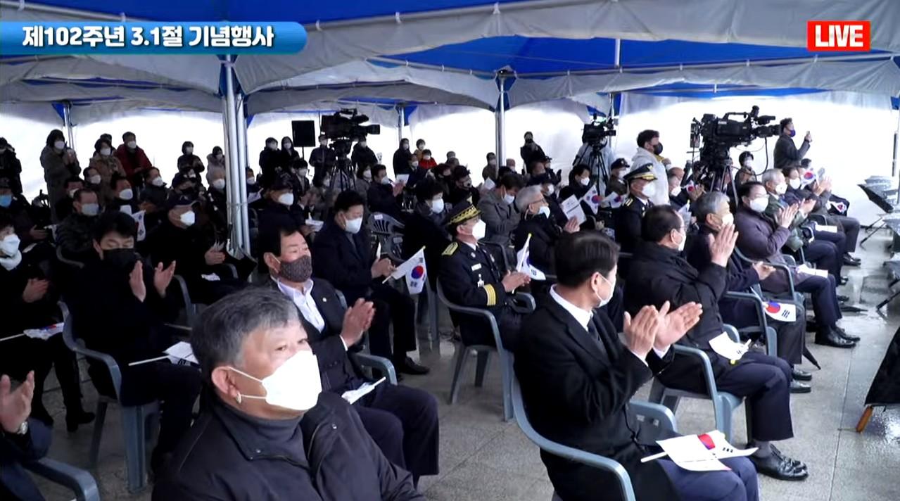 """江原道纪念韩国""""3.1独立万岁运动""""102周年活动圆满成功"""