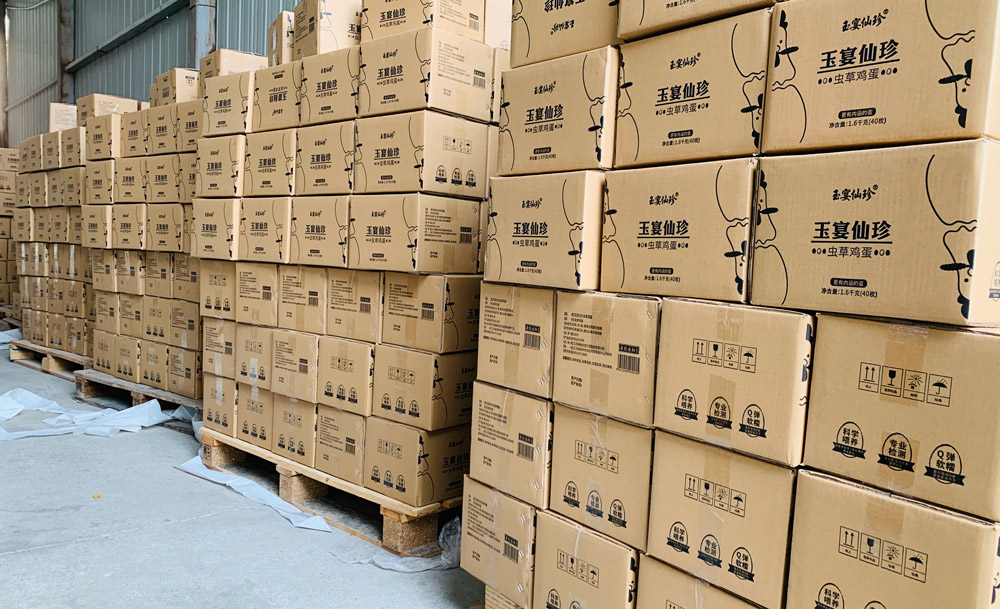康能生物稳步推进助农项目,虫草鸡蛋月销已超40万枚